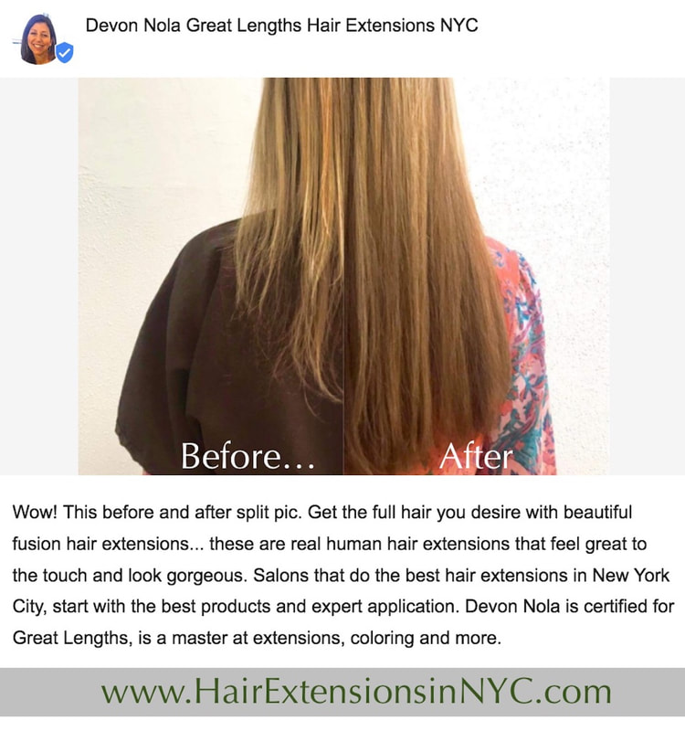 Great Lengths For The Best Hair Extensions New York Stylists Can