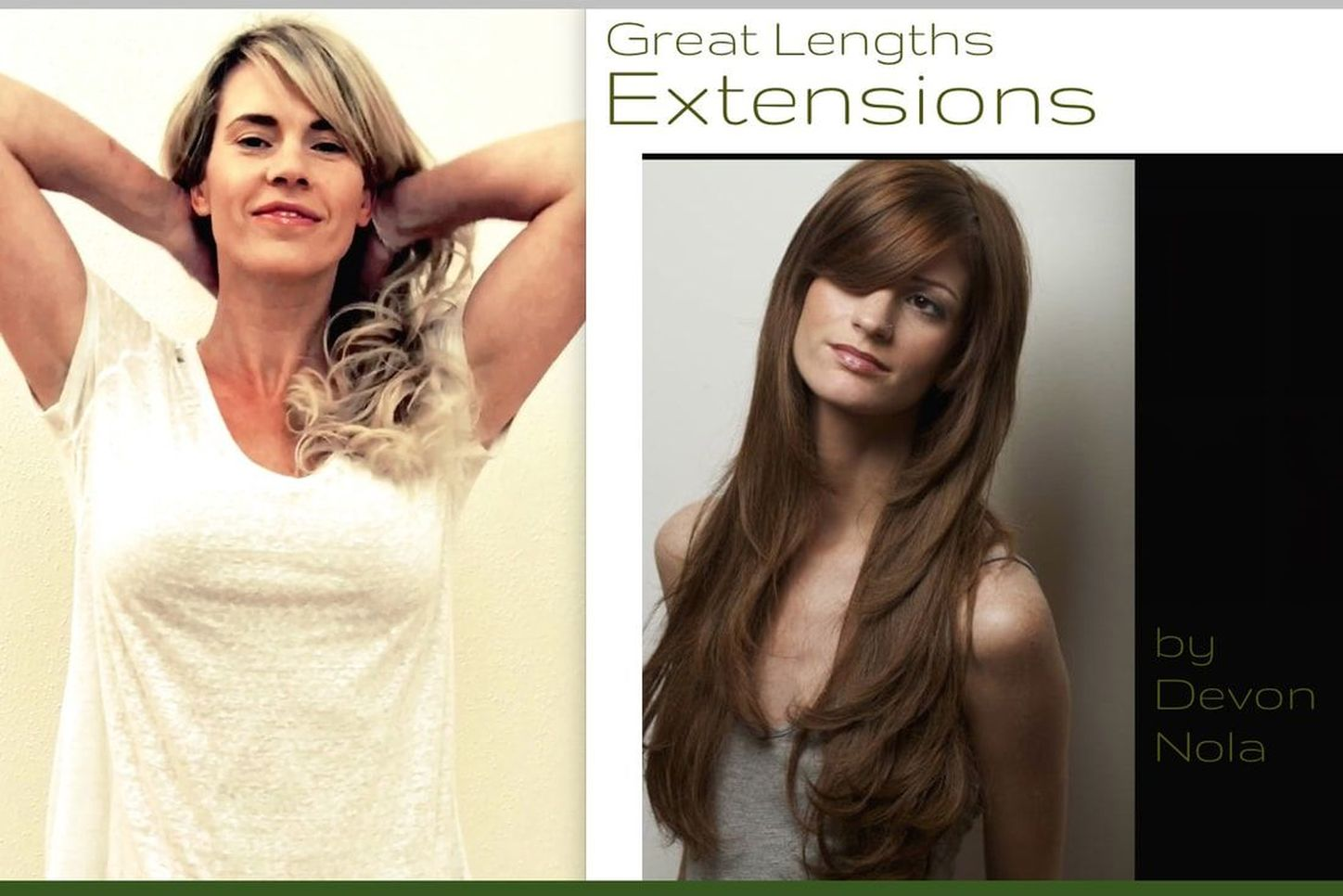 Great Lengths hair extensions NYC salon